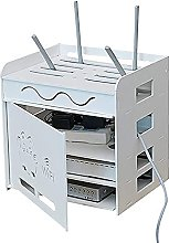 Floating Shelf Wireless WiFi Router Storage Boxes