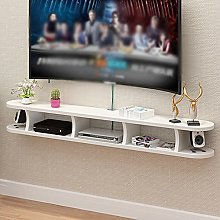 Floating Shelves, Wall-Mounted Media Consoles,