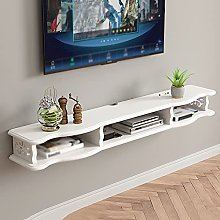 Floating TV Cabinet, Wall-Mounted Media