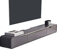 Floating TV Stand Component Shelf, 120cm Wall
