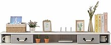 Floating TV Unit Cabinet, Modern Simple Wall TV
