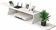 Floating TV Unit Cabinet, Modern WallMounted TV