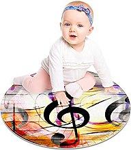 Floor Carpet Music Music Yellow Black Pink Art