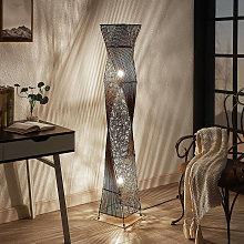 Floor Lamp 'Kassia' in Brown (2 light