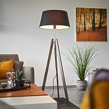 Floor Lamp 'Thea' (design) in Silver made