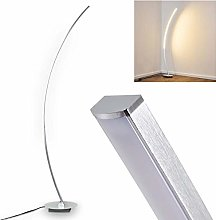 Floor lamp Antares in Chrome Metal - Elegant