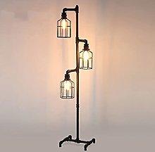 Floor Lamp Industrial Floor Lamp for Living Room,