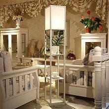 Floor Lamp Modern Standing 3-in-1 Shelf LED Lamp