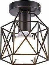 Floor Lamp Shade Vintage E27 Bulb Pendant Metal