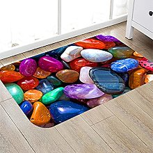 Floor Mat Printing Cobblestone Printing Pattern