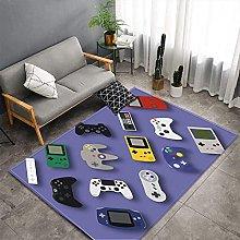 Floor Mat Printing Gamer Controller Area Rugs