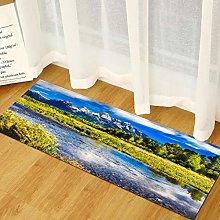 Floor Mat Printing Kitchen Carpet Home Bedroom