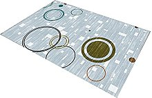 Floor Mat Printing Nordic Style Living Room Carpet