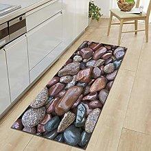 Floor Mat Printing Wood Grain Kitchen Carpet