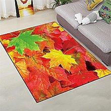 Floor Rug Area Rugs Maple Leaf Modern Minimalist