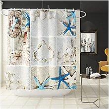Floor Rugs Sea landscape waterproof shower curtain