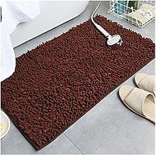 Floor Rugs Solid Color Bath Mat Bath Rugs Chenille