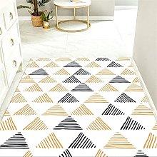 Floor Rugs yellow Dog Rug Creative geometric heavy