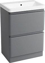 Floor Standing Drawer Vanity Unit Basin Bathroom