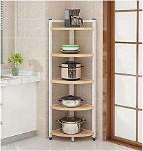 Floor-to-ceiling Corner Rack Cabinet Bedroom