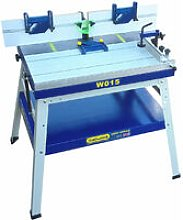 Floorstanding Router Table with Sliding Table