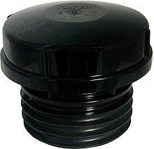 FloPlast AF110BL Black Push-Fit Air Admittance