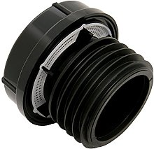 FloPlast AX110BL Black Push-Fit External Air