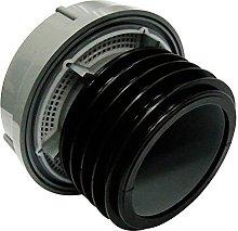 FloPlast AX110G Grey Push-Fit External Air