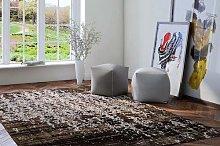 Flora Carpets Designer Rug in Design, Polyester,