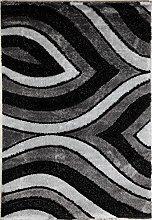 Flora Carpets Shaggy Luxury Coffee/isilti Rug,