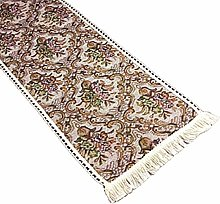 Floral Tapestry Table Runner Dining Kitchen Linen