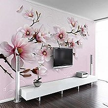 Floral Wallpaper Background Wall Paper TV Living
