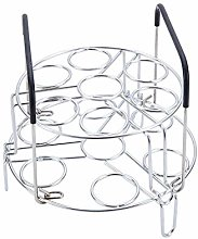FloralLive 14 Holes Egg Steamer Rack Multipurpose