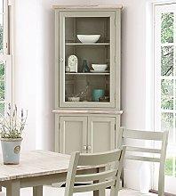 Florence Corner Display Cabinet, Dresser. Large
