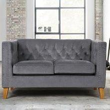 Florence Grey Medium Sofa