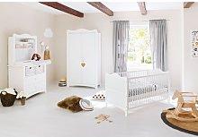 Florentina 3 Piece Nursery Furniture Set Pinolino