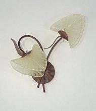 Florenz Lamp 6003.02t Wall Lamp, Brown