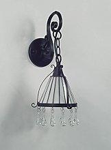 Florenz Lamp 6009.01Wall Lamp, Black