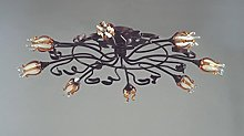 Florenz Lamp 6031.08Fixed Ceiling, Brown