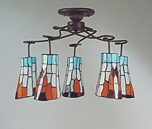 Florenz Lamp 6041.05Fixed Ceiling, Brown