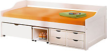 Floro Children Bed With 4 Drawer And 2 Sliding