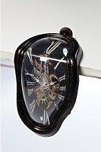 Flow Silver Clock KARE Design