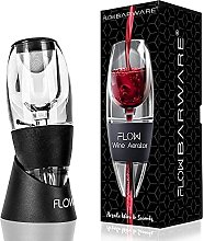 Flow Wine Aerator with Stand, Sediment Filter &