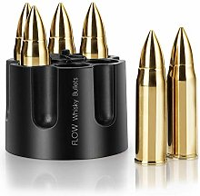 Flow XL Gold Whisky Bullets with Revolver Ammo