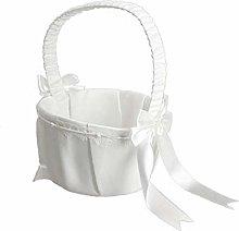 Flower Girl Basket For Ceremony Wedding Party