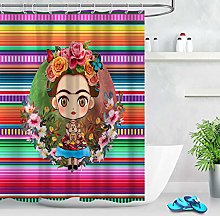 Flower little girl colorful High-definition