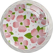 Flower Pink, Modern Minimalist Printing Cupboard