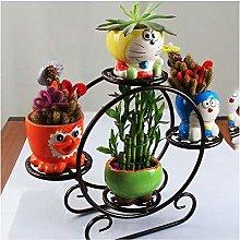 Flower pot rack living room 3 Tiered Scroll