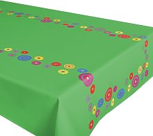 Flower Power Tablecloth Delindo Lifestyle Colour: