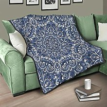 Flowerhome Bedspread Quilted Bed Throw Sofa